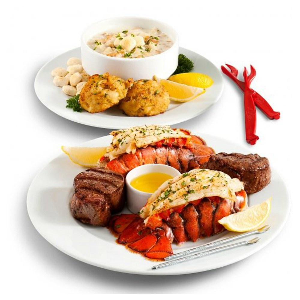 Filet Feast & Maine Lobster Tails Dinner