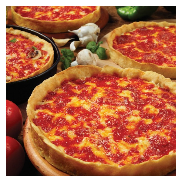 Lou Malnati's Chicago-Style Deep Dish Pizza