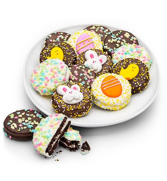 Happy Easter Chocolate Oreos, Easter Oreos