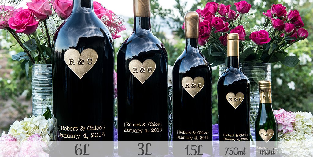 Etched Wines and Champagnes
