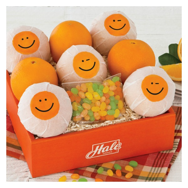 Feel Good Oranges With Jelly Bellies