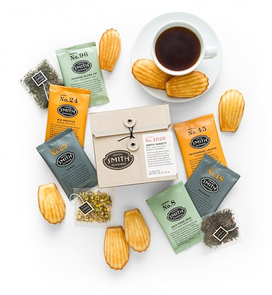 Tea Time and Madeleines Crate