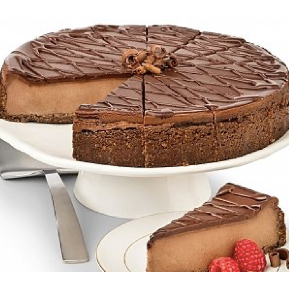 Tiple Chocolate Cheesecake
