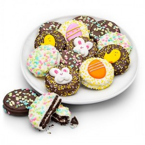 Happy Easter Chocolate Oreos