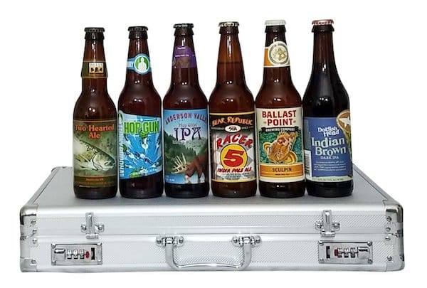 Business Casual Beer Briefcase